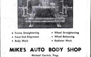 Mike's Auto Body Bear Service.